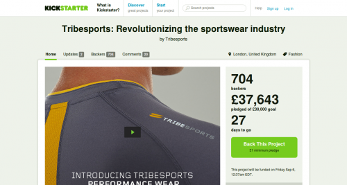 tribesports,crowdfunding,vetements sport