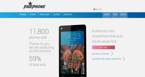 Fairphone,ethic smartphone,telephone intelligent ethique