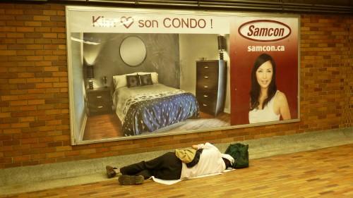 sdf,sans abri,itinerant,Montreal.Quebec,Canada